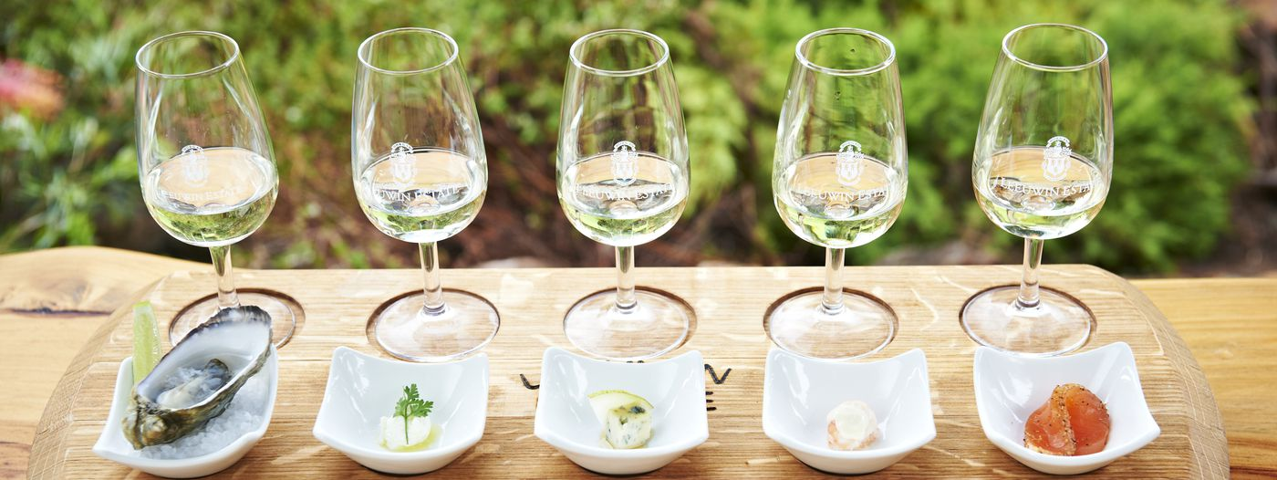 Leeuwin Estate Wine and Food Flight