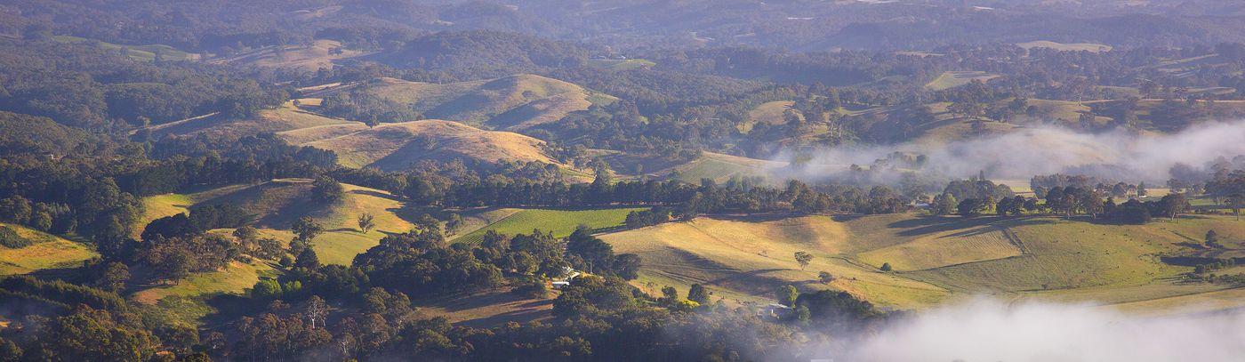 Adelaide Hills Aerial Photo Dragan_0