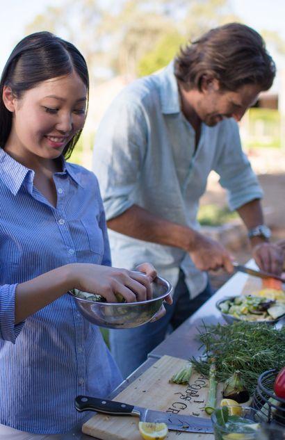 Jacob's Creek outdoor kitchen