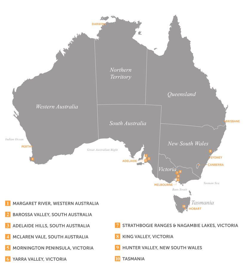 Basic Region Map 2016