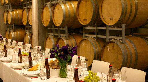 Wine And Cheese Tasting Moorilla Barrel Room